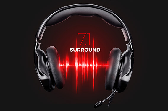 7.1 SURROUND SOUND SYSTEM