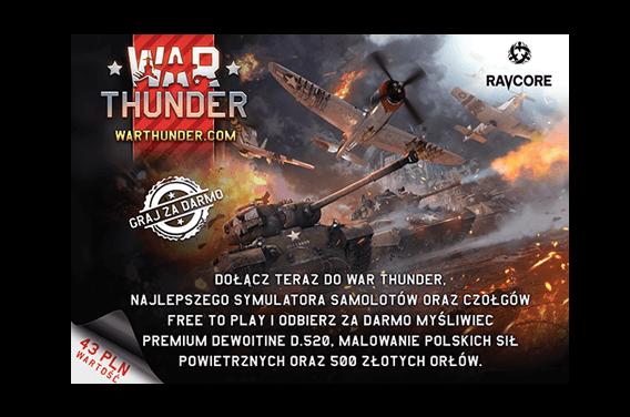 Dodatki PREMIUM w grze War Thunder